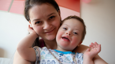 Yoga membership for parents of children with Down Syndrome like me